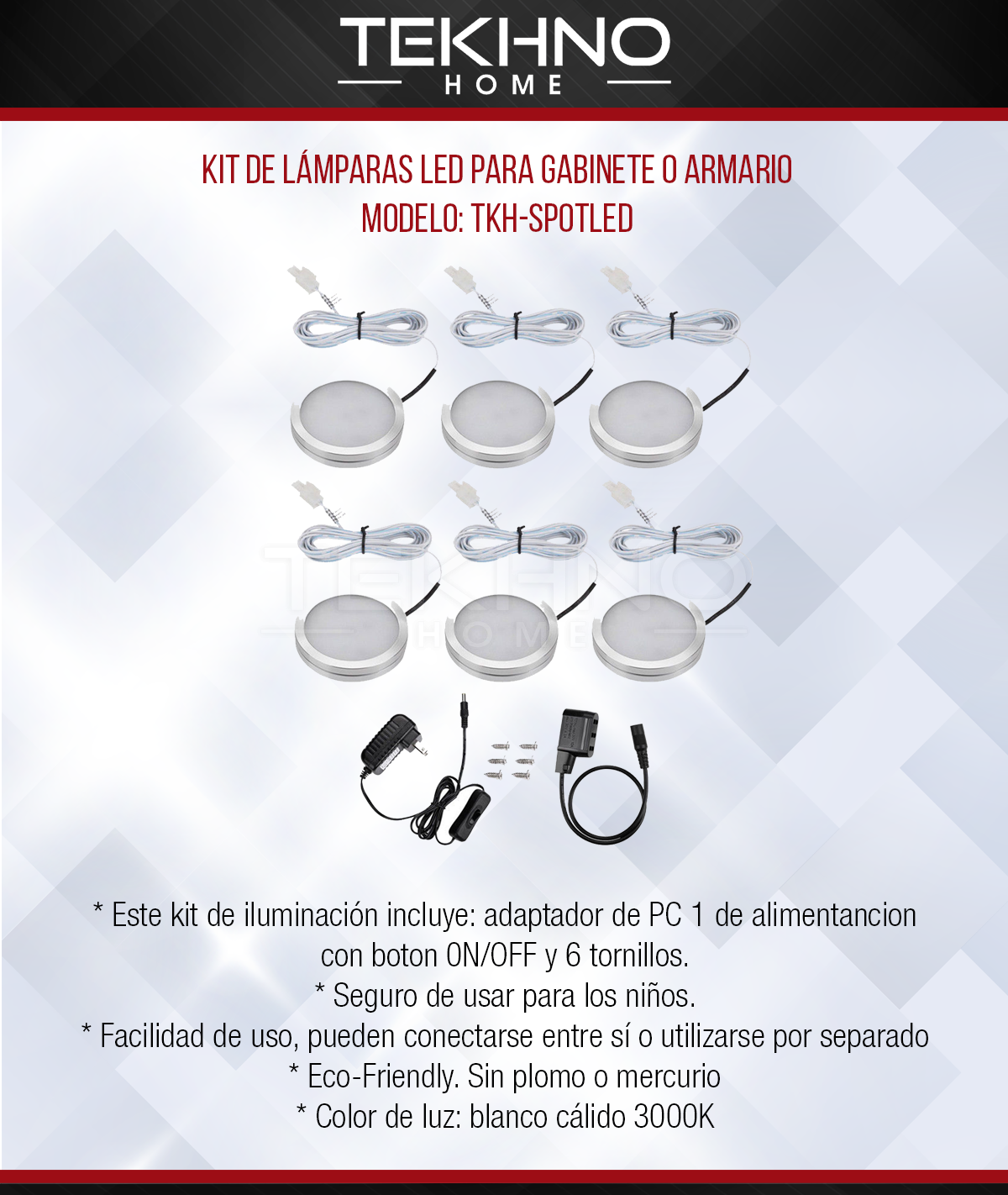 kit de luces LED
