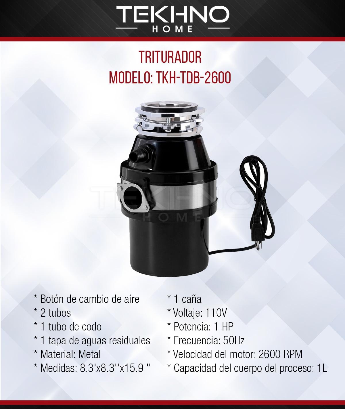 TRITURADOR TKH-TDB-2600